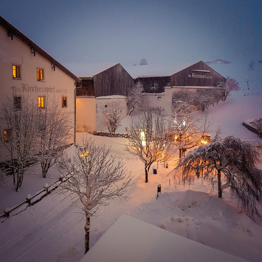Kirchenwirt Leogang Winter